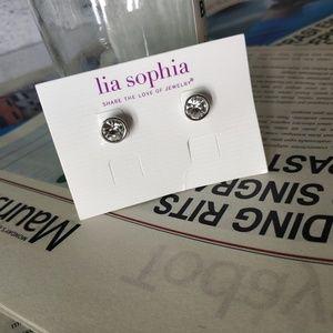 Lia Sophia Classic Vintage Stud Earrings